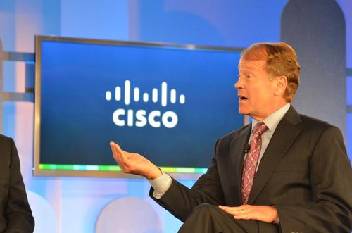 Cisco Systems Chairman and CEO John Chambers.
