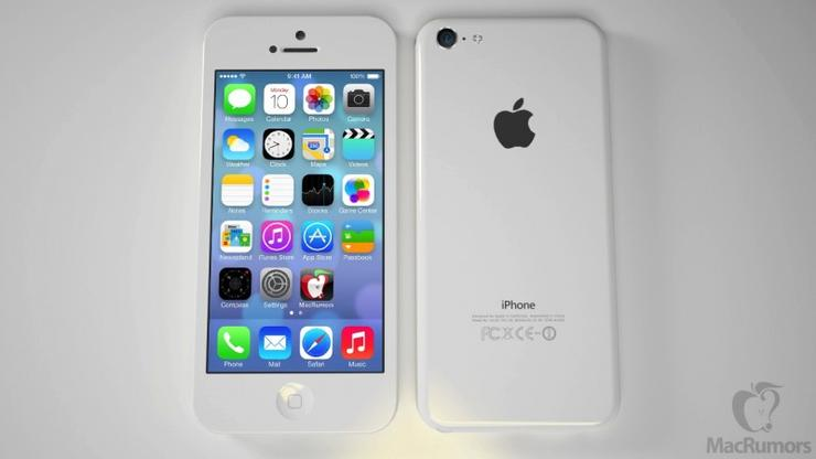 A mock-up of the rumoured entry-level iPhone (Image credit: MacRumors)