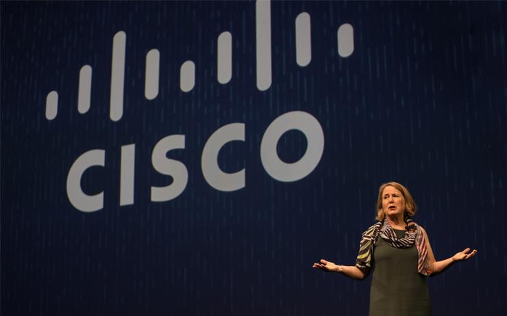 Diane Greene - CEO, Google Cloud, addressing partners on the opening day of Cisco Partner Summit 2017