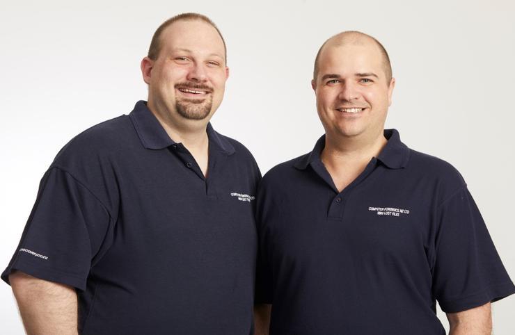 Tom Orton and Nicolas Thomas (Computer Forensics)