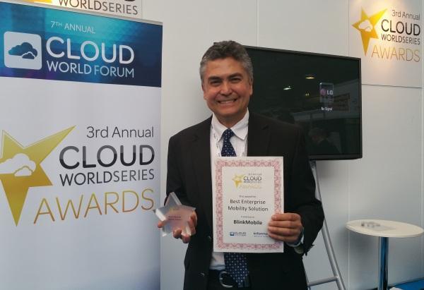 BlinkMobile Interactive wins best enterprise mobility solution award