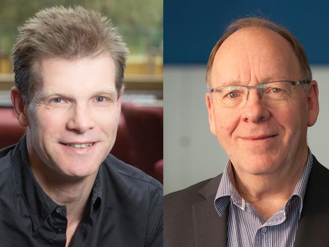 Greg Davidson (Datacom) and Jonathan Ladd (Datacom)