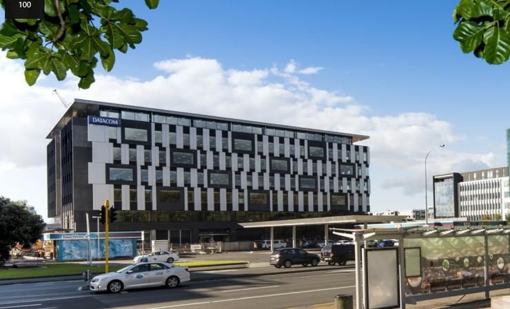 Five into one: Datacom staff are beginning to occupy their new Auckland base.