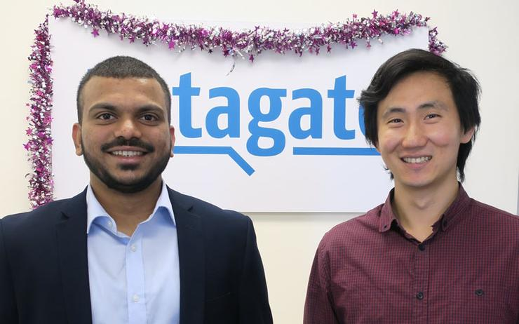 Liston Pinto (Datagate Innovation) and Phillip Wang (Datagate Innovation)
