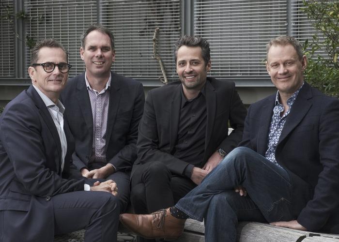 Robert Carter, Davanti, Justin Hamilton, Davanti, Rob Harvey, DAN NZ and Matt Farrar, Davanti.