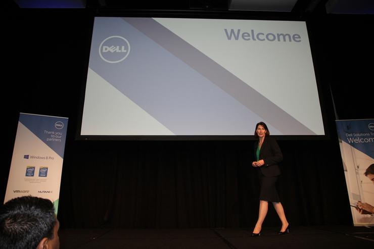 Dell managing director A/NZ, Angela Fox.