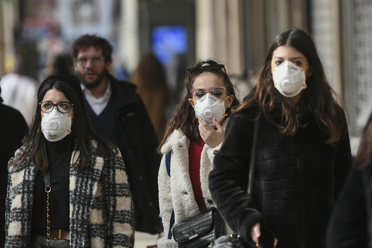 Coronavirus emergency in Milan, Italy