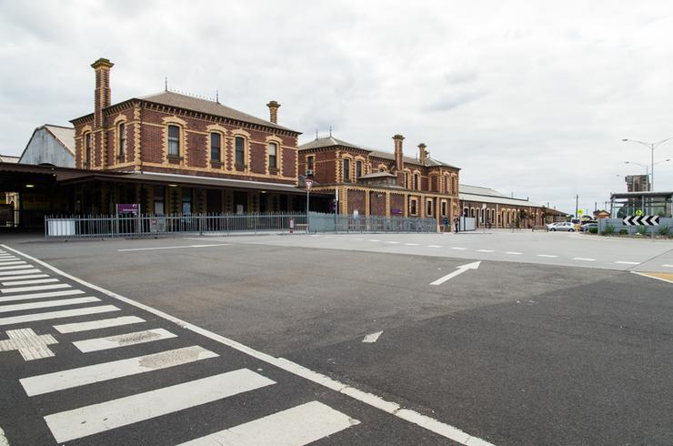 Geelong train station