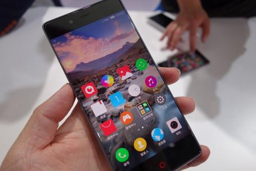 Nubia Z9, while bezel-less, is a bit heavy and covered in glass.