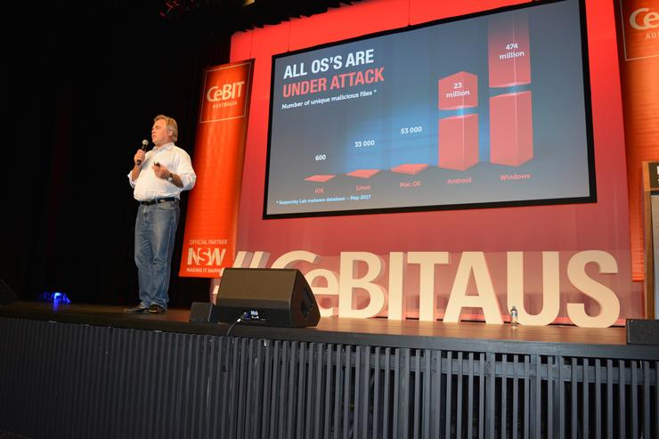 Eugene Kaspersky - CEO and founder, Kaspersky Lab (Photo by Chris Player)