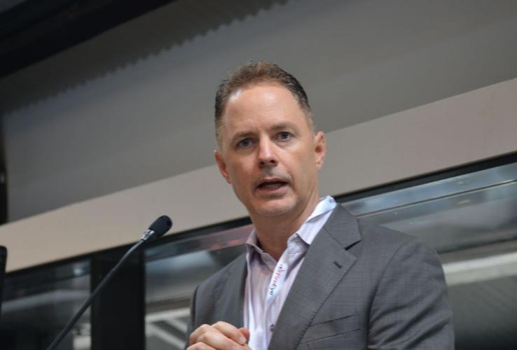 Scott McCrady, vice president of global solution providers, FireEye