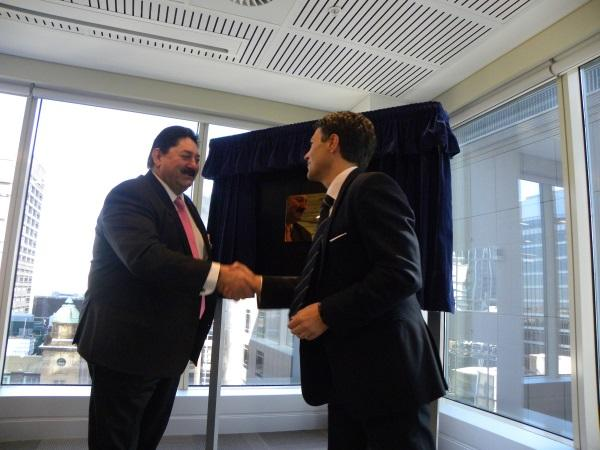 UXC managing director, Cris Nicolli, and NSW minister for innovation and better regulation, Victor Dominello