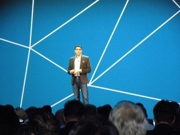 VMware networking and security senior vice-president and general manager, Martin Casado