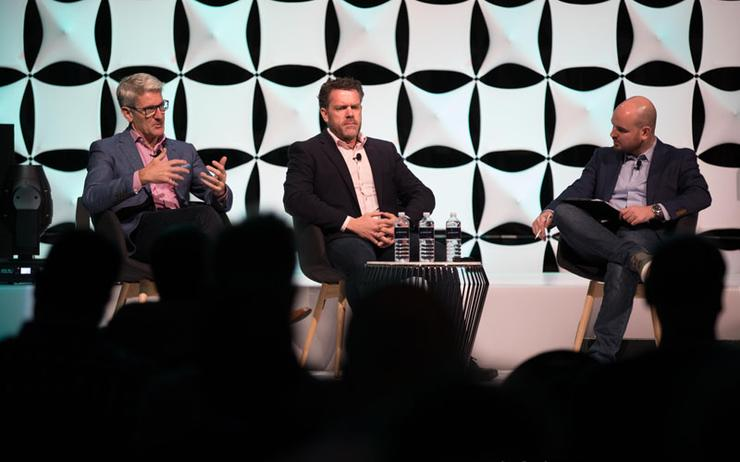 Mark Iles (Tech Research Asia); Frazer Scott (Plan B) and James Henderson (ARN and Reseller News) assess the state of marketing in the channel