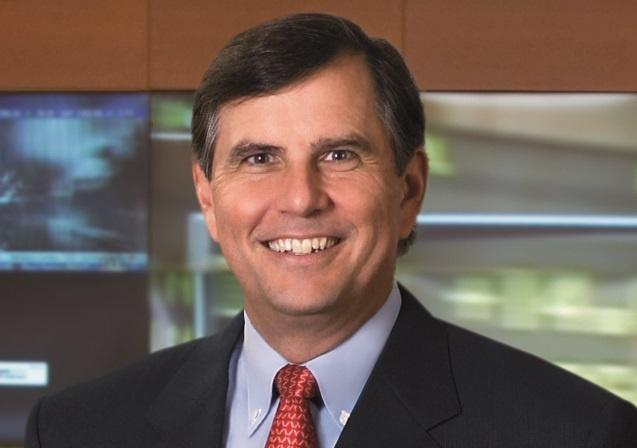 Emerson chairman and CEO, David Farr