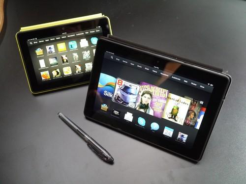 The Kindle Fire HDX comes in 7-inch and 8.9-inch models.