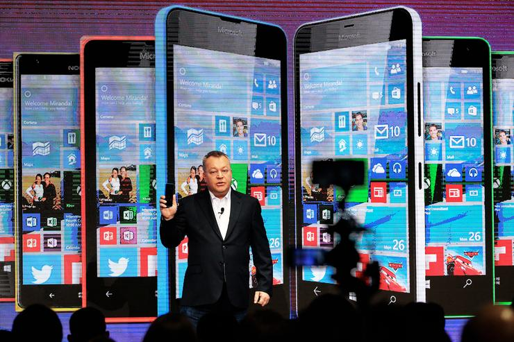 Stephen Elop - Former executive Vice President of the Microsoft Devices Group