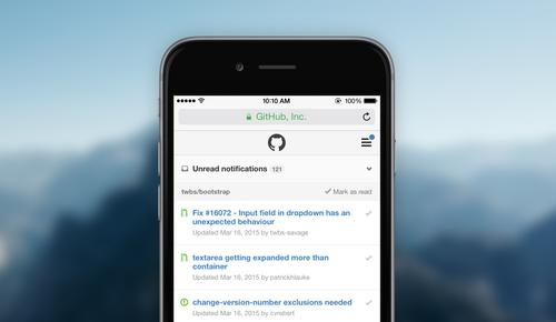 GitHub recently added mobile notifications to its software development platform.