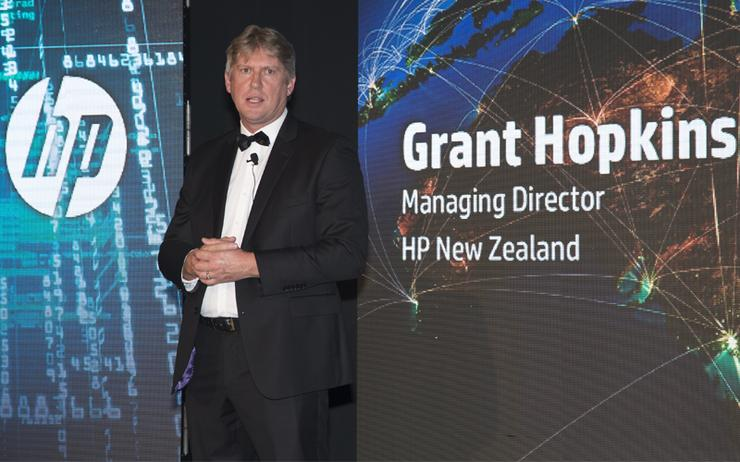 Grant Hopkins - Managing director, HP New Zealand
