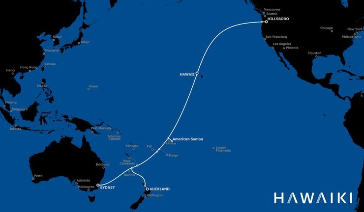 The Hawaiki submarine cable plan