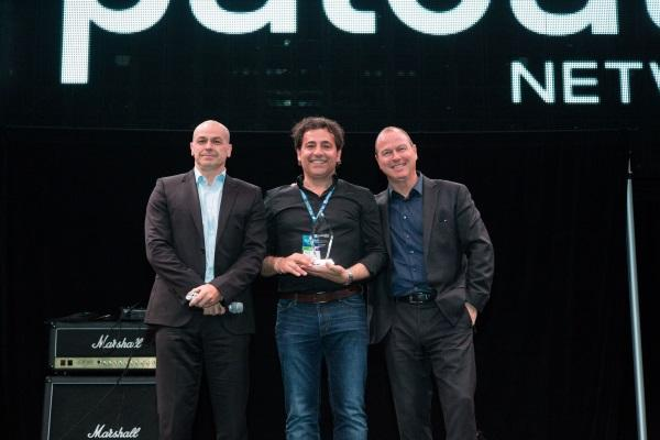 (L-R) Palo Alto Networks Asia-Pacific head of channels, Keith Carter; Distribution Central managing director and CEO, Nick Verykios; and Palo Alto Networks vice-president of Asia-Pacific, Steve Redman