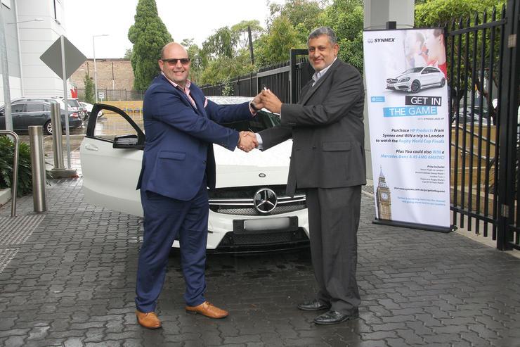 Synnex Australia presents Triforce with new Mercedes Benz