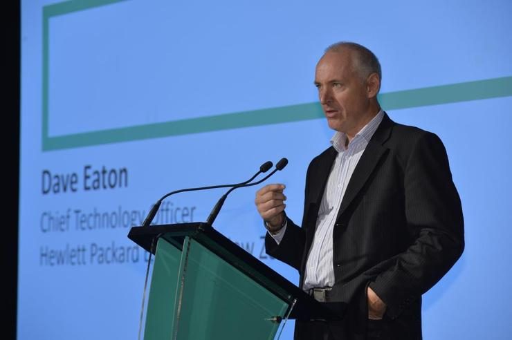 David Eaton - CTO, Hewlett Packard Enterprise