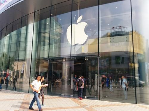 An Apple store in Beijing.