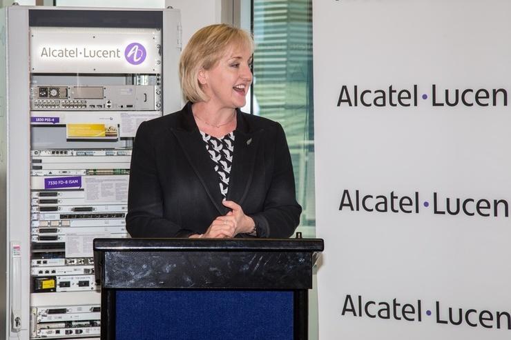 Communications Minister Amy Adams