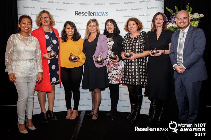 Winners of the 2017 Reseller News Women in ICT Awards