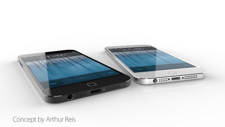 Apple iPhone 6 concept (Image credit: Arthur Reis)