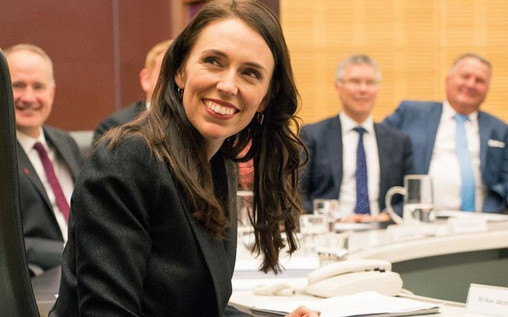 Prime Minister Jacinda Ardern has been criticised for using Zoom.