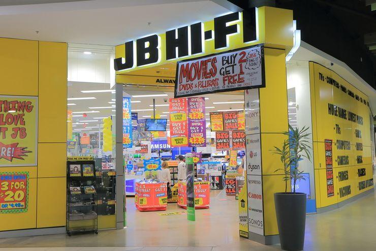 JB Hi-Fi's first-half profit surges 21 per cent to $151.7 million