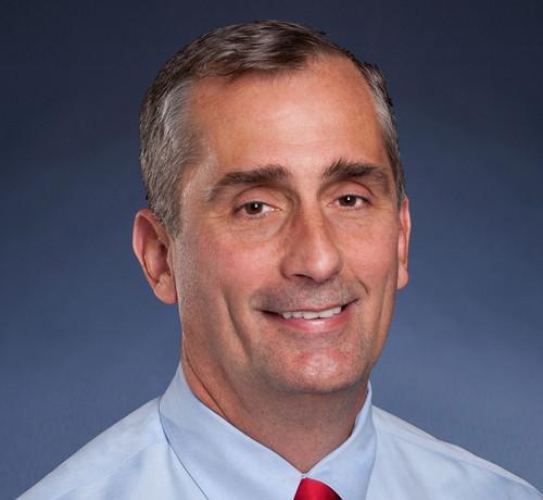 Intel chief executive Brian Krzanich.