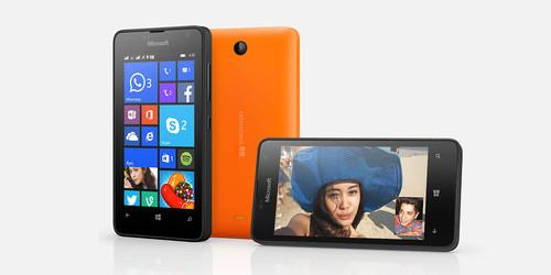 The new Lumia 430.