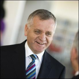 Chief executive, Tom Stianos, is retiring