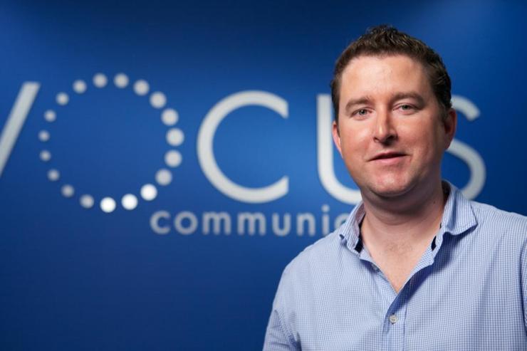 Vocus CEO, James Spenceley.