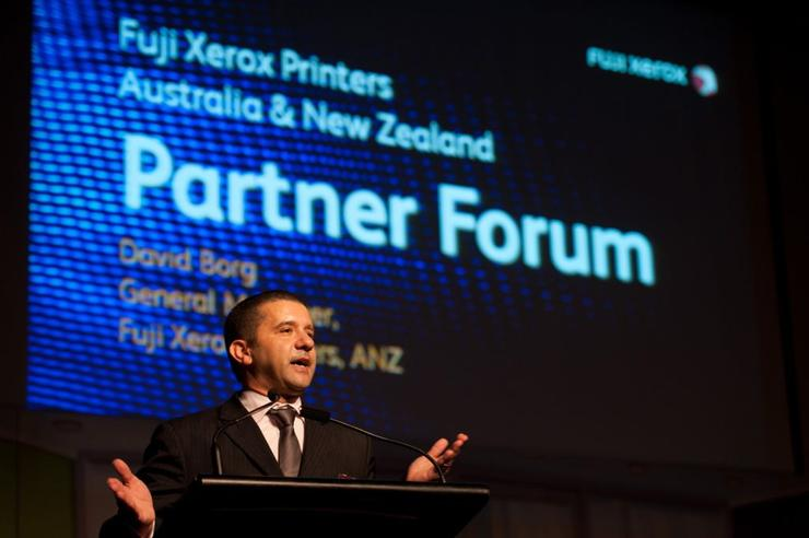 David Borg - Teleportivity co-founder and former Fuji Xerox Printers dealer general manager for A/NZ