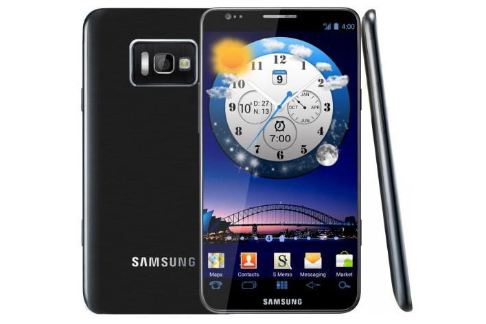 An artists impression of what the Samsung Galaxy S III could look like