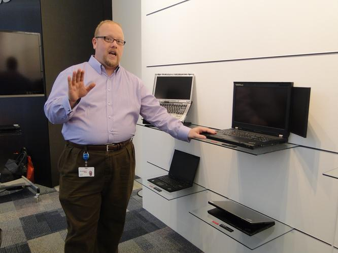 Lenovo customer centres senior worldwide competitive analyst, Kevin Beck