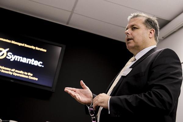 Former Symantec Australia and New Zealand managing director, Brenton Smith.