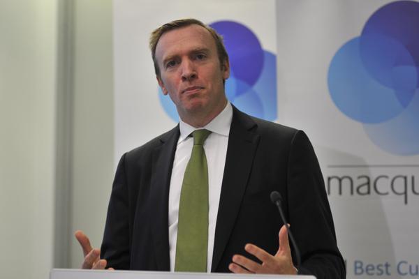 Macquarie Telecom CEO, David Tudehope