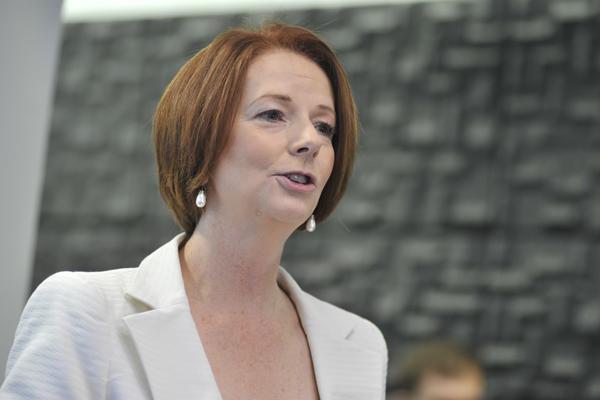 Ducere chancellor and former PM, Julia Gillard