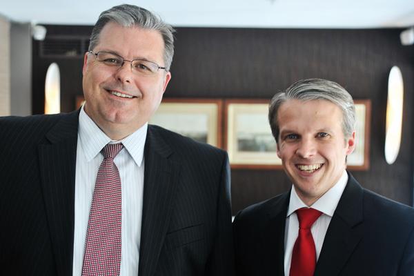 Symantec's Brenton Smith and Jeff Arndt