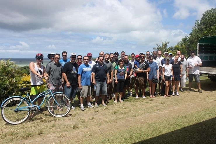 The WatchGuard A/NZ team and partners.