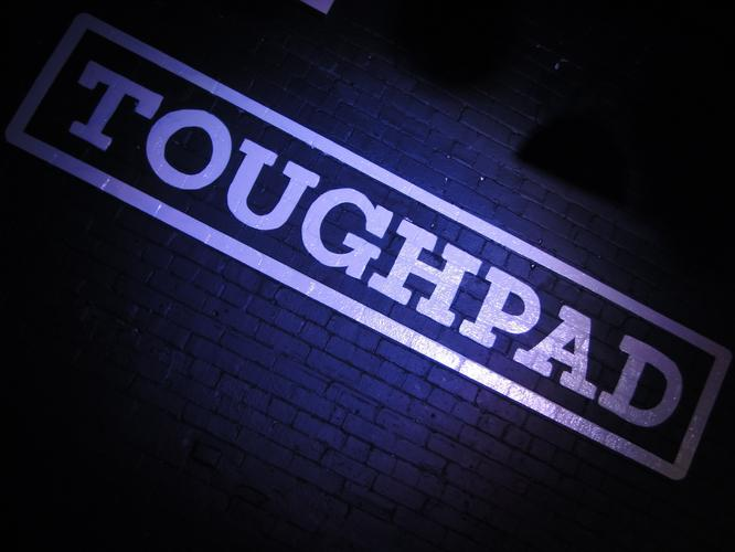 Panasonic unveiled its Toughpad at a media event in Sydney