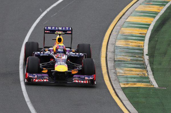 Infiniti Red Bull Racing at the 2013 Formula 1 Rolex Australian Grand Prix in Melbourne