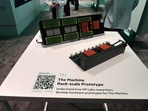 A mock-up of HP's Machine at the HP Discover conference June 3