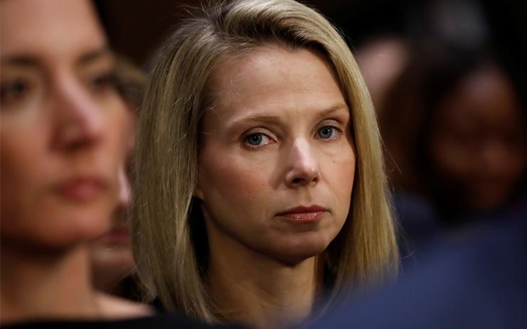 Former Yahoo CEO - Marissa Mayer