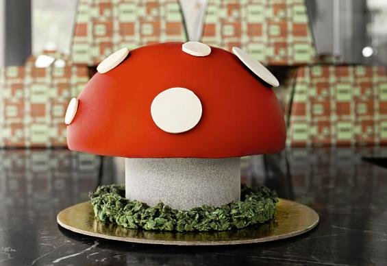 Yes it's edible... Gelato Messina's tasty creation: Dr Evil's Magic Mushroom.  Source: gelatomessina.com